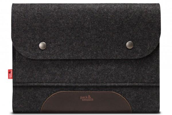 Corriedale iPad Tasche in dunkelgrau