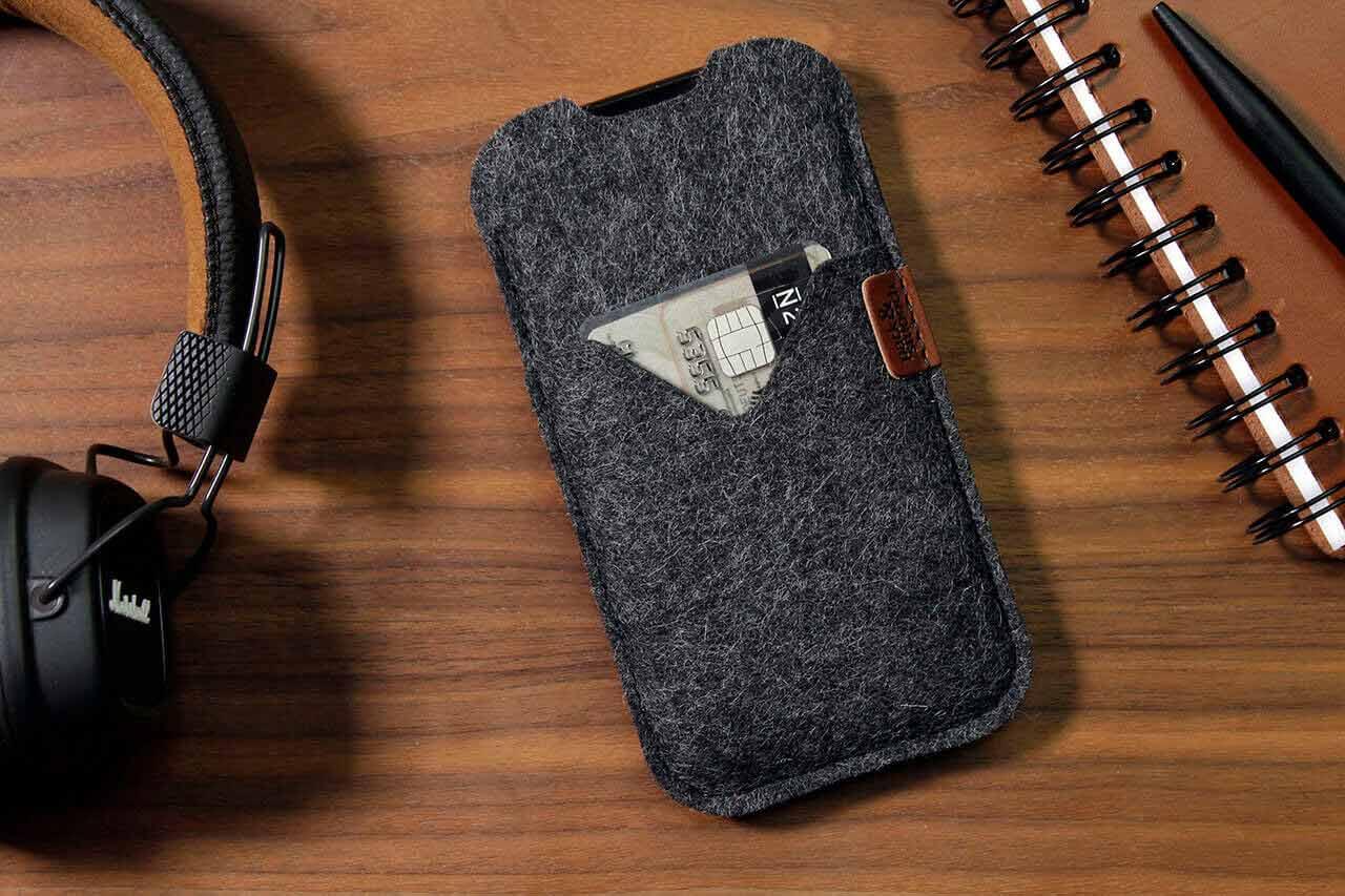 Iphone 11 Pro Max Xs 8 Hülle Shetland Aus Wollfilz