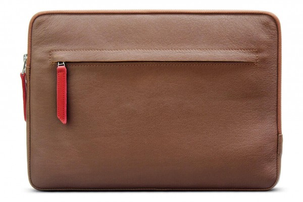 Leather Macbook Cover light brown
