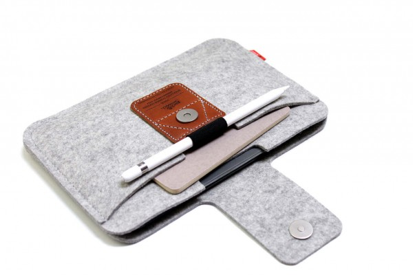 iPad mini sleeve Lleyn in light grey