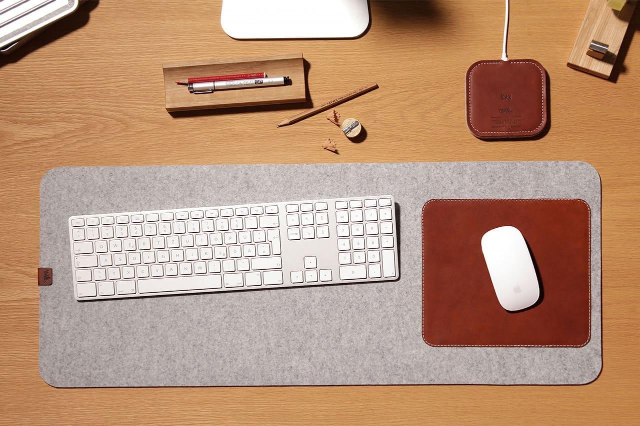Tastaturunterlage-Moira-Schreibtischunterlage-schreibunterlage-filz-leder-packandsmooch-handmade