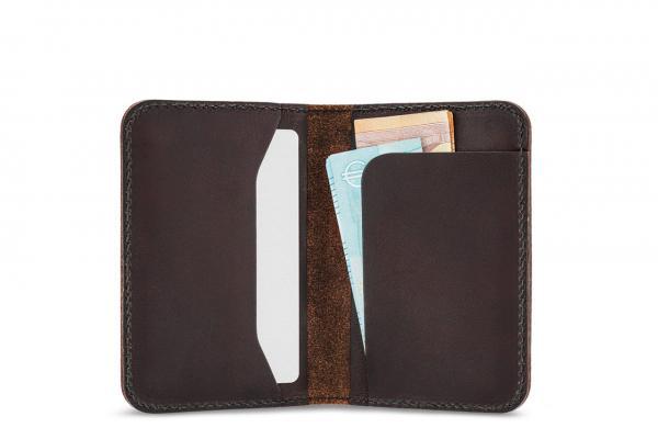 Leather card case, wallet, purse, bi-fold wallet