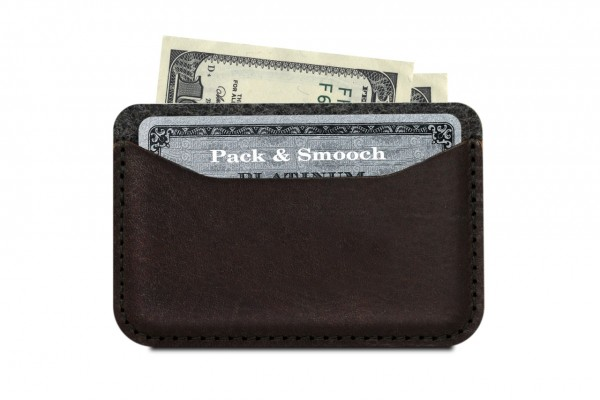 Pocket for card holder