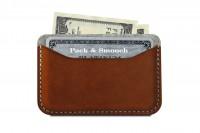 Card case Keswick in light brown