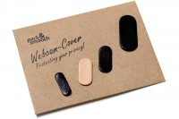 Webcam cover - privacy leather cover