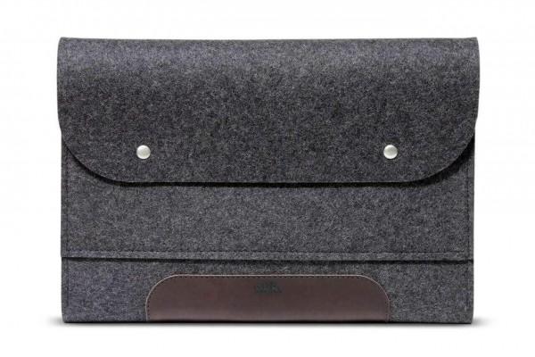 Pack & Smooch MacBook Bag in dark grey