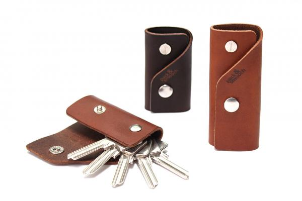 Kingsley S - leather key case